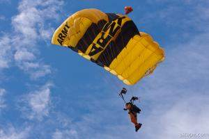 Army Golden Knights Paratrooper