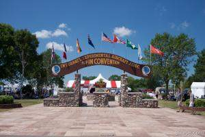 EAA Oshkosh 2011 main gate