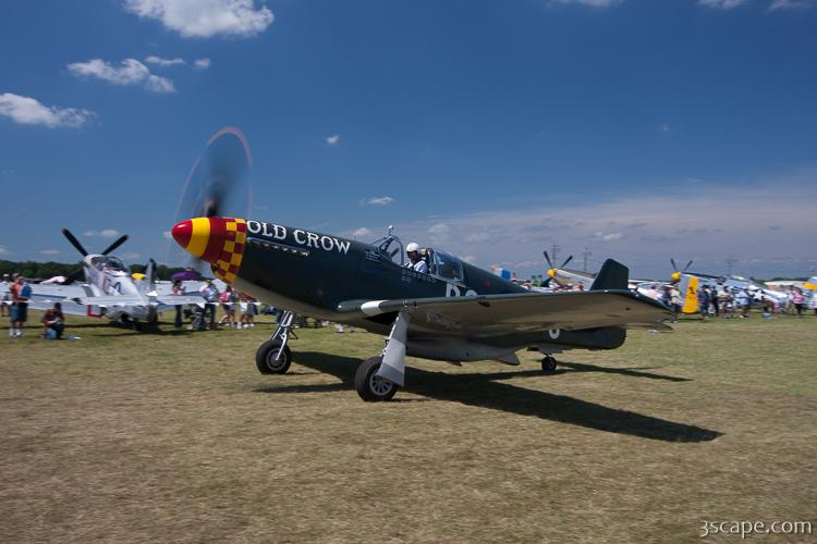 North American P-51B Mustang - Old Crow