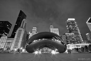 Cloud Gate and Skyline