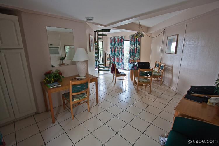 Interior Of Bungalo Condo At Coco Plum Resort