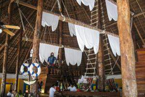 Pirate Ship in Restaurant