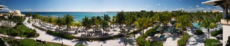 Panoramic of Barcelo Maya Palace Resort