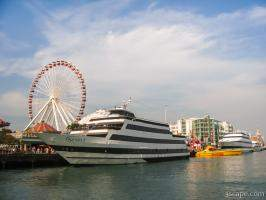 Spirit of Chicago at Navy Pier