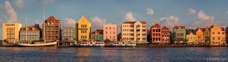Willemstad Curacao Panoramic
