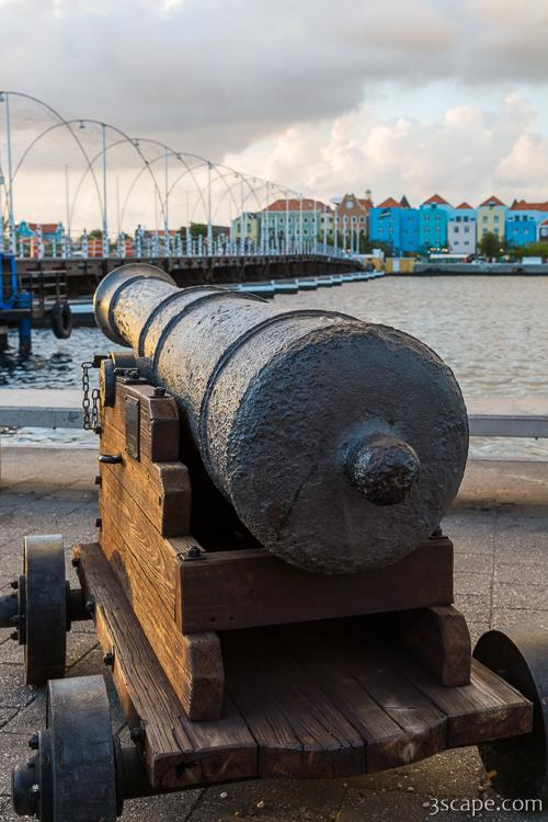 Old Cannon in Willemstad