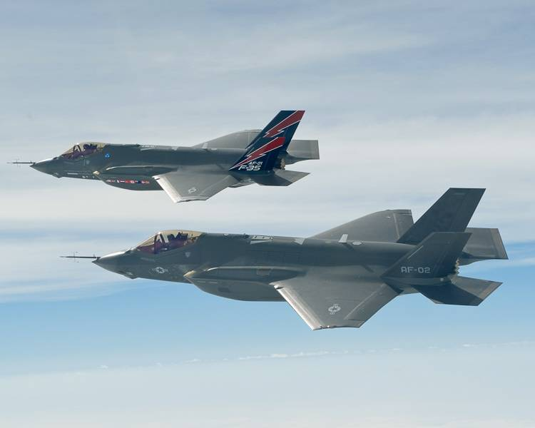 F-35A Lightning II Joint Strike Fighters