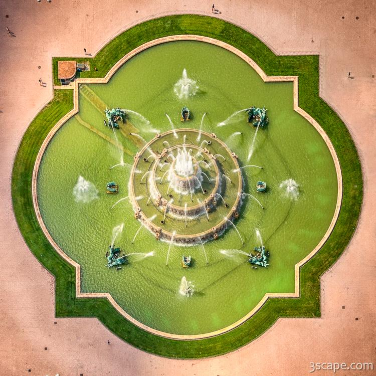Aerial perspective art