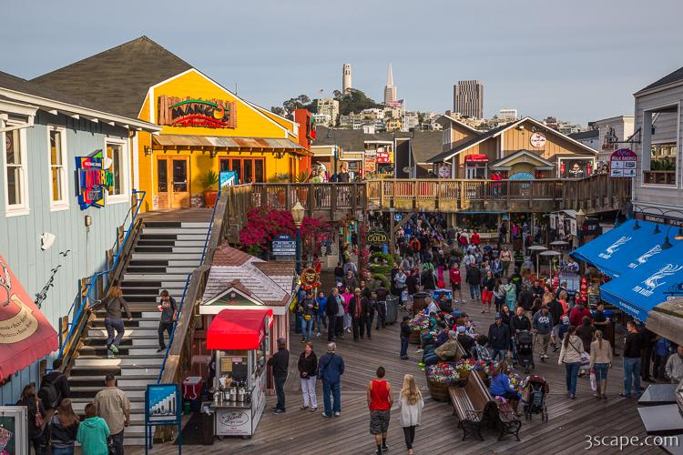 Pier 39 at Fishermans Wharf