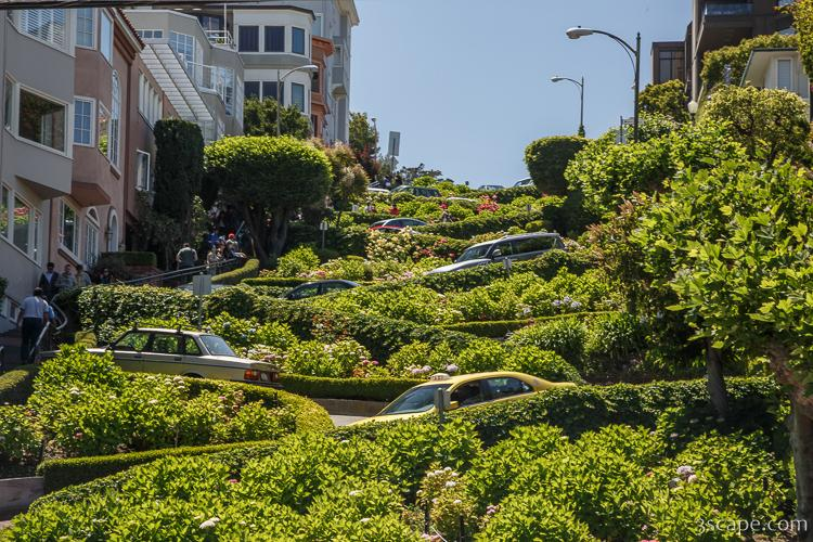 The Crookedest Street - Lombard Street
