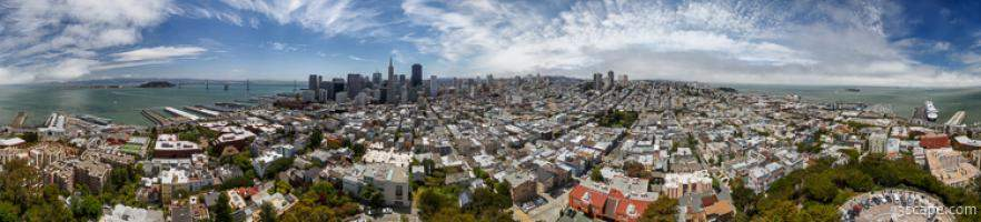 San Francisco Daytime Panoramic