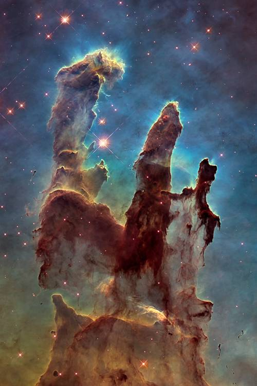 New Pillars of Creation HD Tall