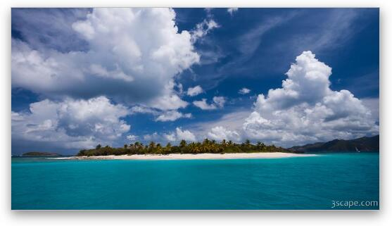 Paradise Is Sandy Cay Fine Art Print